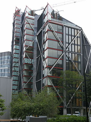 Graham Stirk - Image: Neo Bankside apartment buildings, London (side view)