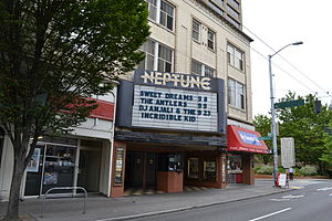 Neptune Theatre (Seattle) - The theater's exterior in 2011