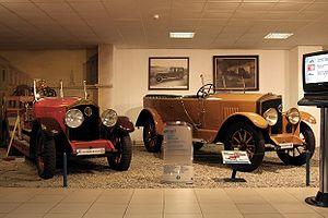 Nesselsdorf T - 2 cars in Tatra Museum