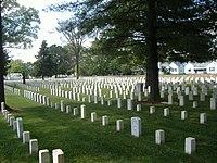 New Albany National Cemetery graves.JPG