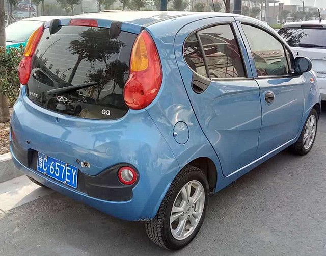 Image of New Chery QQ Rear 2017.12.22