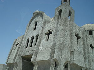 Al-Malikiyah - Image: New church