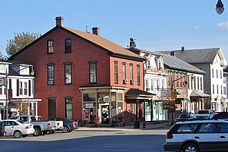 Newport Historic District (Newport, Pennsylvania) - Second Street south of Center Square
