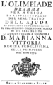 Niccolò Jommelli - Olimpiade - titlepage of the libretto - Lissabon 1774.png