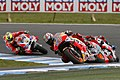 Nicky Hayden leads the group 2016 Phillip Island.jpg