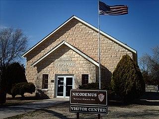 Nicodemus, Kansas Unincorporated community in Kansas, United States