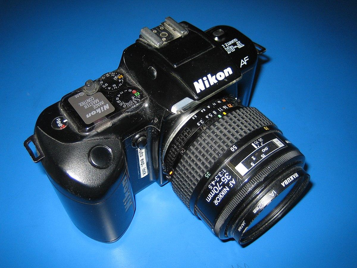 nikon f 401 wikipedia rh en wikipedia org Nikon 35Mm Film Camera Nikon 35Mm Film Camera