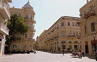 Nizami street in Baku, 2010