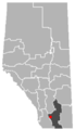 Nobleford, Alberta Location.png