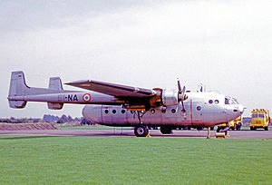 Nord Noratlas - Operational Nord 2501 of 1/61 squadron of the 61 Escadre de Transport of the French Air Force in 1969