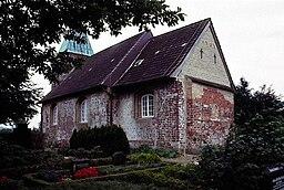 Rüllschau Kirke (Rylskov) i Danmark. Rüllschau kirke
