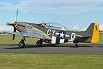 North American TF-51D Mustang 'CY-D Miss Velma' (G-TFSI) (30800334227).jpg