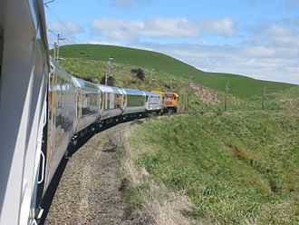 Northern Explorer - Northern Explorer near Waiouru