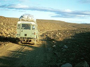 Route sommaire (Islande, 1972)
