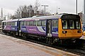 Northern Rail Class 142, 142048, St. Helens Central railway station (geograph 3795539).jpg