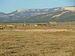 Northwest at Bryce Canyon Airport from SR-12, Oct 17.jpg