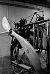 Nose of Bleriot XI with 6 cylinder Anzani radial engine.jpg
