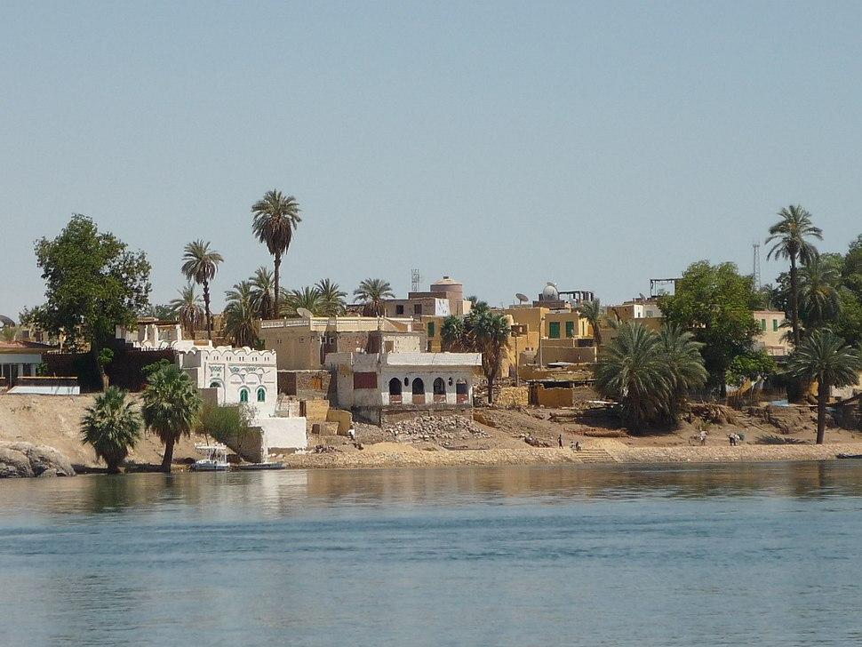 Nubian village Elephantine Island