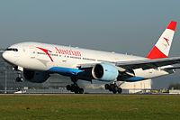 OE-LPB - B772 - Austrian Airlines