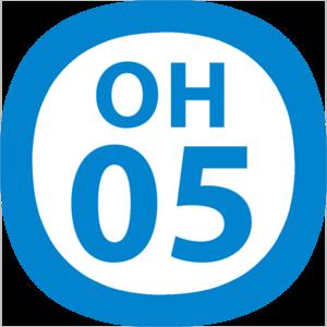 Yoyogi-Uehara Station - Image: OH 05 station number
