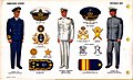 ONI JAN 1 Uniforms and Insignia Page 106 Portuguese Navy WW2 Commissioned officers June 1943 Field recognition. US public doc. No known copyright.jpg