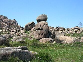 Mount Pindo - Image: O Guerreiro, Monte Pindo