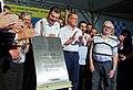 O governador do estado de São Paulo Geraldo Alckmin, entrega em Jundiaí , o complexo viário do Trevo Nove de Julho da SP-330 (38414076662).jpg