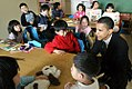 Obama meets with children at Chinese American Service League (CASL) on Tuesday, April 13.jpg