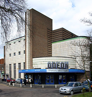 Harry Weedon - The former Odeon Cinema in Sutton Coldfield by Weedon and Cecil Clavering, 1936.