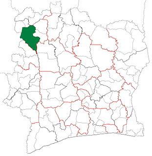 Odienné Department Department in Denguélé, Ivory Coast