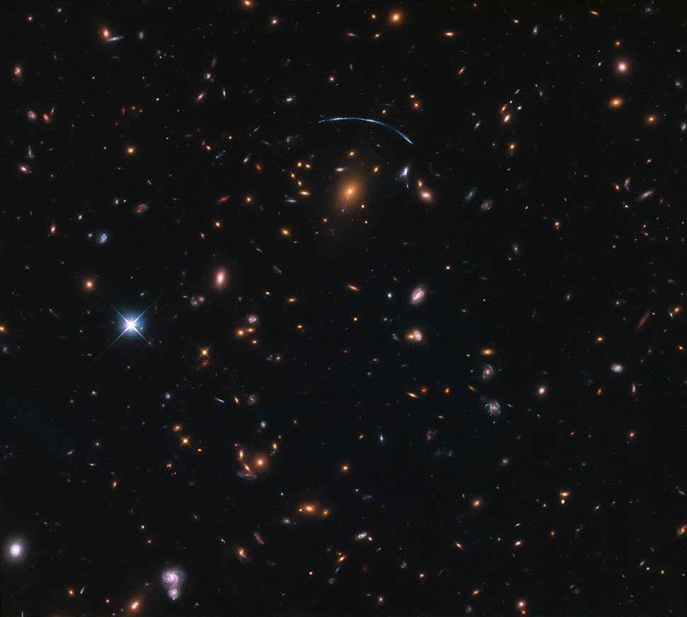 Of bent time and jellyfish SDSS J1110+6459