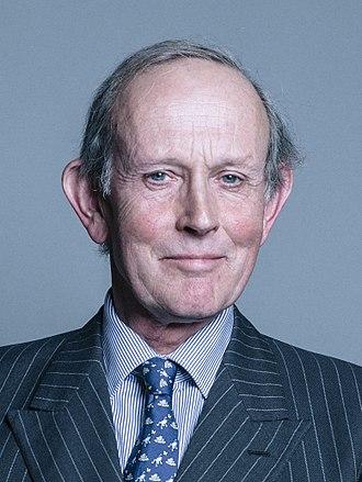Alan Brooke, 3rd Viscount Brookeborough - Image: Official portrait of Viscount Brookeborough crop 2