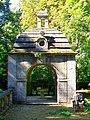 Ognon (60), parc d'Ognon, gloriette ouest 03.jpg