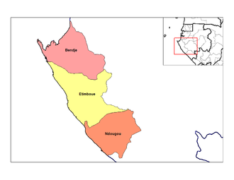 Departments of Gabon - Departments of Ogooué-Maritime