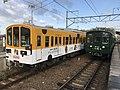 Ohmi Railway 1802 and 1811 Musa 20200414.jpg