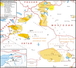 Oirat language West Mongolic language of Mongolia and China