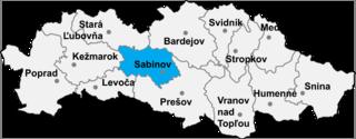 Tichý Potok municipality of Slovakia