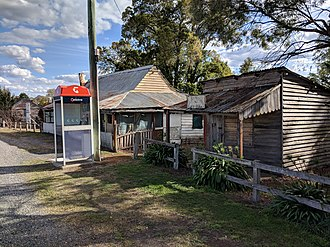 Nerriga, New South Wales - Old butcher shop and house
