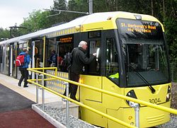 Oldham Mumps Metrolink - 13 June 2012.JPG