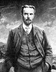 Oliver Heaviside portretita de Frances Hodge