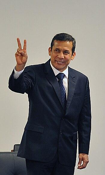 Ollanta Humala em Bras%C3%ADlia