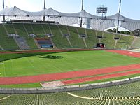 photo du stade olympique de Munich