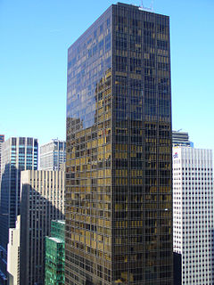 Olympic Tower skyscraper in New York City
