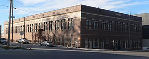 National Register of Historic Places listings in Douglas County, Nebraska - Image: Omaha Postal Annex from SE 1