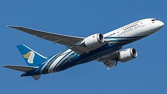 Oman Air - Oman Air Boeing 787-8