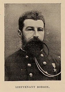 Omer Bodson Belgian officer