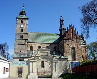 Parish - St Martin's collegiate parish church in Opatów, Poland