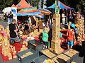 Open Streetlife Festifal 2012 Baukloetze spielende Kinder.JPG
