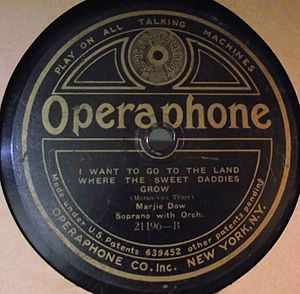 Operaphone Records - Image: Operaphone 21196B