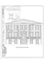 Orange Hall, Saint Marys, Camden County, GA HABS GA,20-SAMA,1- (sheet 1 of 12).png